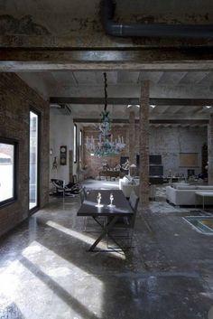 ♔ a beautiful thing is never perfect... - Barcelona Loft Source: vogesparis.blogspot