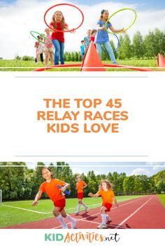 Find the top 45 relay races kids love here. Great for PE class or outdoor get togethers. A great way to exercise and have fun! Kids Relay Races, Relay Games For Kids, Relay Race Ideas, Pe Games, Summer Party Games, Pe Lessons, Kids Running, Running Club, Outdoor Games