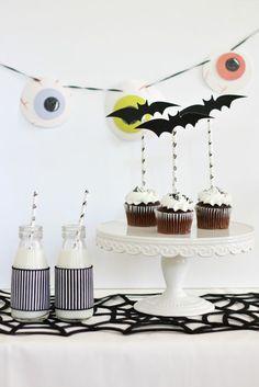 #marthastewartcrafts Halloween decor with A Thoughtful Place #12monthsofmartha