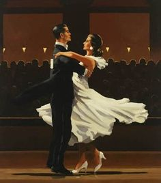Jack Vettriano Take this Waltz Oil on canvas