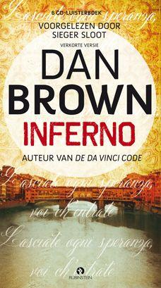 Inferno - Dan Brown.  Download de gratis app en geniet van het luisterboek tijdens je dagelijkse auto- of treinrit.