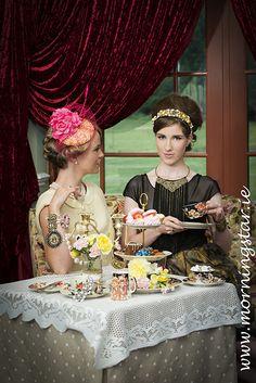 Tea Party - Hair by Nicole O'Gorman. Afternoon Tea. Revas Spa Adare.