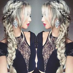 21 Pretty Side-Swept Hairstyles for Prom