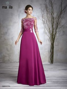 Plum mother of the bride dresses with sleeves modest mother of the bride dress eggplant mother of the groom dresses off the shoulder wedding guest dresses Mother Of The Bride Dresses Long, Mothers Dresses, Elegant Dresses, Beautiful Dresses, Formal Dresses, Mom Dress, Lace Dress, Dress Brokat, Occasion Dresses