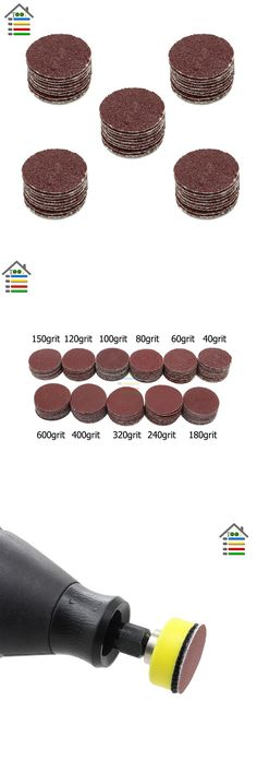 [Visit to Buy] 50PCS 1inch/25mm Grit Sander Sanding Disc Polishing Paper without Pad plate Dremel Electric Grinder Abrasive Rotary Tools #Advertisement