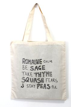 VEGGIE WISDOM Tote. Punny Tote. Natural Canvas Bag. Funny Saying Tote. Grocery  Shopping Bag. Carry All Bag. Puns Market Bag Printed Tote Bag 6d35844512