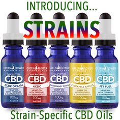 Our STRAINS CBD Oil vape/tincture oils are formulated from full-spectrum, phytocannabinoid-rich oil, extracted from organically US grown hemp, and are certified to be free from pesticides, residual chemicals and any other contaminates. Just pure, healthy hemp oil in a kosher-grade vegetable glycerin (VG) base, enriched with natural plant terpenes patterned after popular medical cannabis strains.