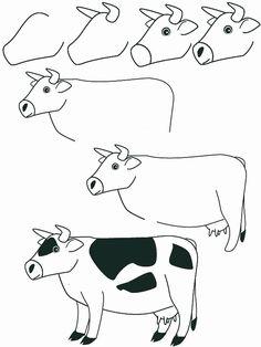 Dessin vache
