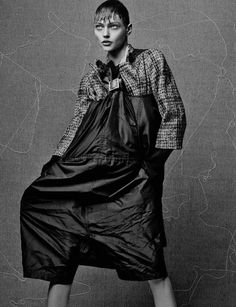 Sasha Pivovarova  by Craig McDean for Interview Magazine October 2013 8