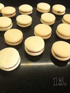 Proste ciasteczka jak makaroniki - Orchideli Domowy Cukiernik Nutella, Cheesecake, Dessert Recipes, Cooking Recipes, Tasty, Cookies, Food, Crack Crackers, Cheesecakes