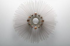 Mid century Sunburst Wall sculpture by Curtis Jere 001 Objects, Decor, Danish Style, Wall Sculptures, Mid, Decorative Objects, Sunburst, Home Decor, Mid Century