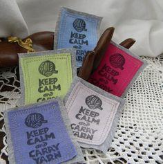 keep calm & carry yarn!