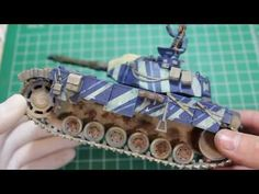 Workbench Wednesday on the 1/35 scale Edelweiss Tank!