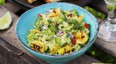 Guacamole met ananas