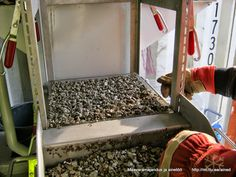 Maavarade kaevandamise õppetool: Separeerimise praktikum, 07.10.2014