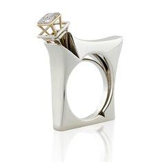 Designed In Israel Stone Jewelry, Jewelry Art, Jewelry Rings, Jewelery, Jewelry Accessories, Jewelry Design, Unique Jewelry, Fashion Jewelry, Unusual Rings