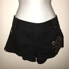 Express Black Shorts Only worn once! Really cute and can be worn with a lot of different tops. Express Shorts