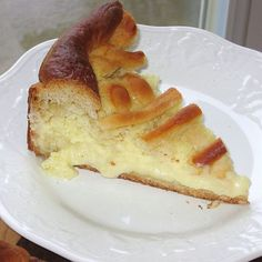 This recipe for Polish wheel cake or kolacz weselny is made with a farmers cheese filling and a lattice top.