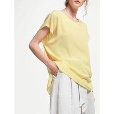 Mellow Yellow, Rarity, John Lewis, Silk, Modern, T Shirt, Tops, Fashion, Supreme T Shirt