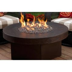Love this gas fire grill. Happy Father's Day from GardenLivingStudio.blogspot.com. #firepit #outdoorliving #fathersday