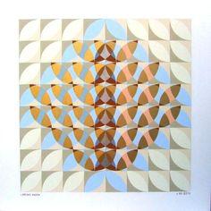 I bellissimi pannelli con patterns geometrici di lorenzo bocca