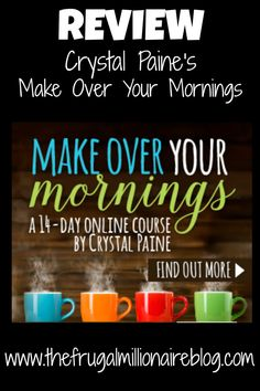 Become more productive by learning to start your day off on the right foot. This was a game-changer for me!!