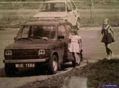 Mały Fiat, Warszawa, lata 80-te, Ursynów