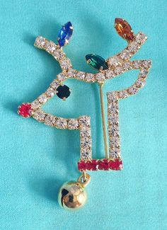 ADORABLE Christmas Ruldolph REINDEER With Bell by LimitlessJewels