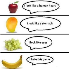 If fruits could talk lol