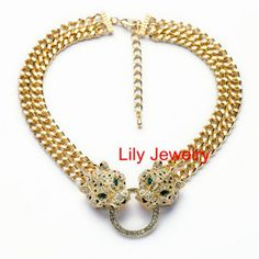 Fashion Lyaers Prom Necklace Jewelry Gold by Attractivenecklace, $14.80
