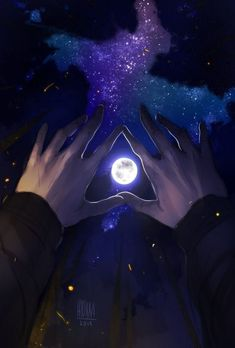 Find images and videos about boy, art and anime on We Heart It - the app to get lost in what you love. Galaxy Wallpaper, Wallpaper Backgrounds, Book Wallpaper, Main Manga, 3d Foto, A Court Of Mist And Fury, Beautiful Moon, Anime Scenery, Aesthetic Art