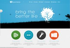 ST BUSINESS is a responsive Joomla template. It is more suitable for business and corporate but also suitable to portfolio sites. This template has all the popular and common features. It's built upon Twitter Bootstrap framework and has full responsive layout that adapts perfectly for all device resolutions like mobiles, tablets and desktops.