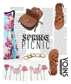 """""""spring"""" by mellamangabriela ❤ liked on Polyvore featuring Oliver Gal Artist Co., Billabong and vintage"""