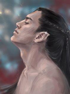 Fëanor by ElfinFen