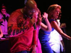 Hoda doubles as backup dancer for Flo Rida at the #TODAYat60 party. Click here for more pictures at the party!
