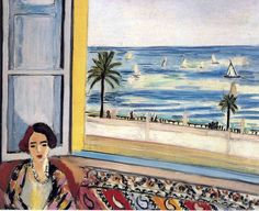 Henri Matisse - Seated Woman, Back Turned to the Open Window 1922 Seated Woman, Back Turned to the Open Window 1922 73x92cm oil/canvas The Montreal Museum of Fine Arts Purchase, John W. Tempest Fund