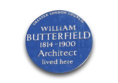 William Butterfield (7 September 1814 – 23 February 1900) was a Gothic Revival architect and associated with the Oxford Movement (or Tractarian Movement). He is noted for his use of polychromy.