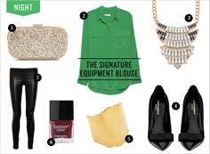 Signature Equipment Blouse | Rue
