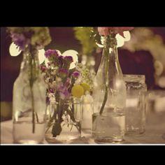 Simple table decor