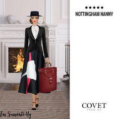 NOTTINGHAM NANNY @covetfashion #covet #covetfashion #covetfashionapp #fashion #womensfashion