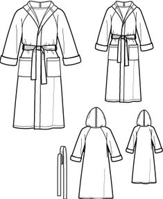 learning how to make a housecoat sewing pattern