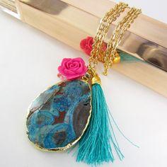 a795df0f6d57 Encuentra Collares Mujer Bano Oro Hamsa Calavera Drusa Cuarzo Joyas -  Collares en Mercado Libre Colombia. Descubre la mejor forma de comprar  online.