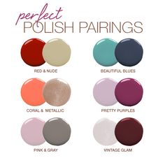 Nail polish is a great accessory to any look. It's an easy way to make a daring statement without purchasing a new piece of clothing, or to have a little fun wi