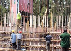 Working at height in Kenya