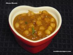 Chana Masala, one of the most popular vegetarian dishes in india. Chana Masala is a good combination for chapathi,poori,bhature and dosa. Chana Masala, Good Food, Vegetarian, Dishes, Cooking, Ethnic Recipes, Baking Center, Plate, Tablewares