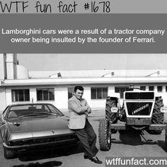 How the Lamborghini cars were created -  fun facts