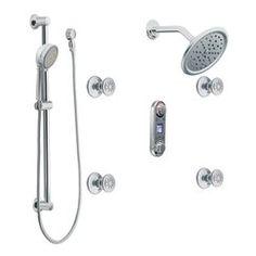 Moen IO Digital Shower...Preset/Remote Control Shower...Gotta Have.