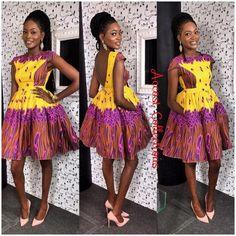 Top Ten Trendy Ankara Styles You Should Try - Dabonke : Nigeria Latest Gist and Fashion 2019