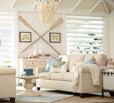 Amelia Indoor/Outdoor Wood Bead Chandelier