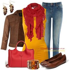 """""""Autumn Shades"""" by casuality on Polyvore"""